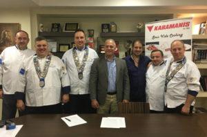 Ανανέωση συνεργασίας με την εταιρεία KARAMANIS