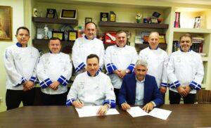 Υπογραφή Πρωτοκόλλου Συνεργασίας μεταξύ της Λέσχης Αρχιμαγείρων Ελλάδος & της Ένωσης Εστιατορίων & Συναφών Αττικής