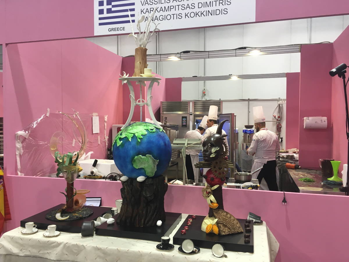 INTERNATIONAL PASTRY COMPETITION – MILAN 2017